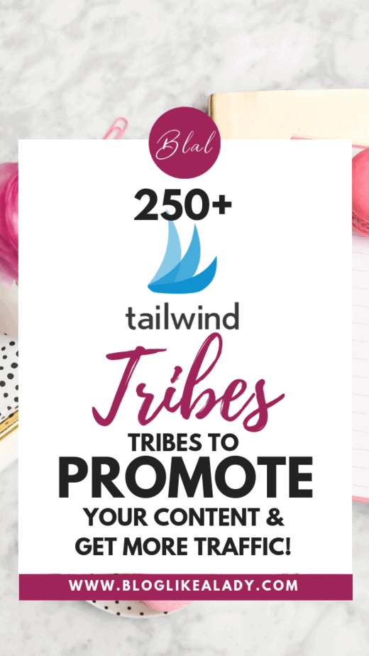 250+ Tailwind Tribes List For Pinterest To Promote Your Content!
