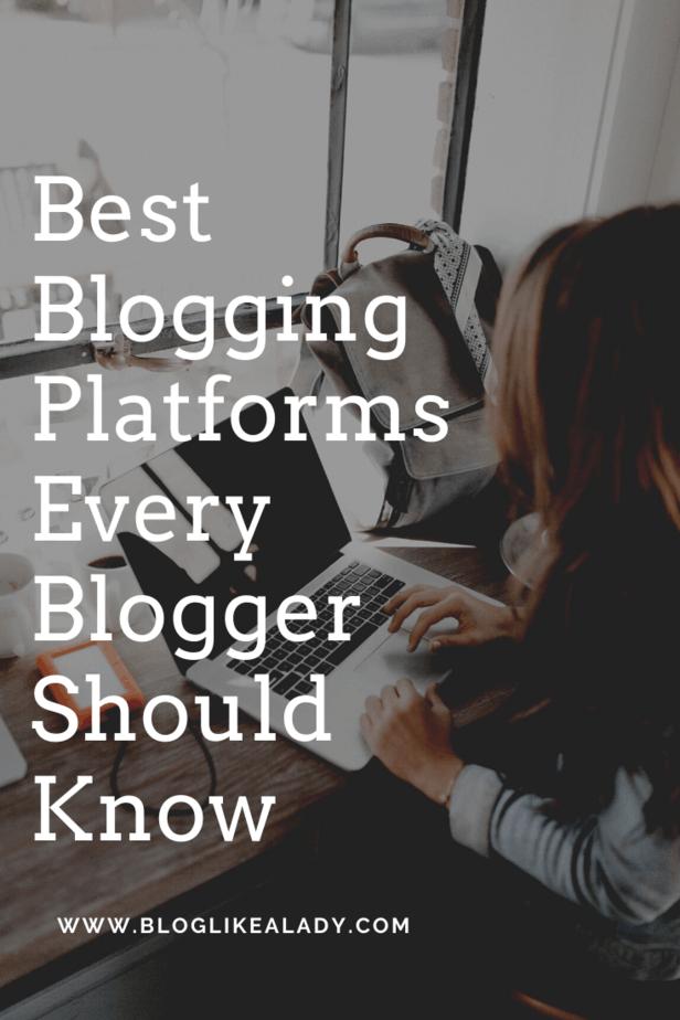 Best Blogging Platforms Every Blogger Should Know