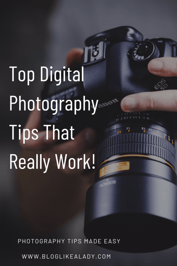 Top Digital Photography Tips That Really Work!