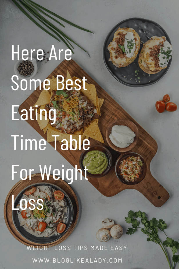 Here Are Some Best Eating Time Table For Weight Loss
