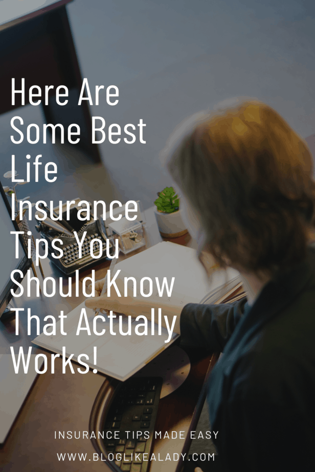 Here Are Some Best Life Insurance Tips You Should Know That Actually Works!