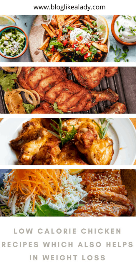 Low Calorie Chicken Recipes Which Also Helps In Weight Loss