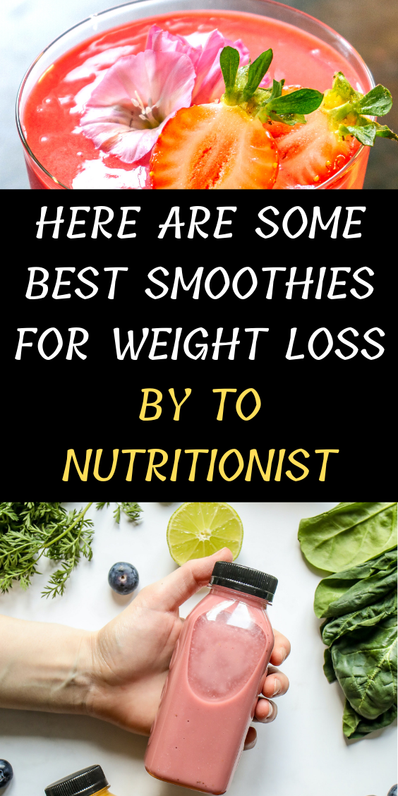 Here Are Some Best Smoothies For Weight Loss That Actually Works